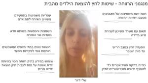 האמא שלי דינר - הפעולה הבריונית של משרד הרווחה לחטוף את ילדיה