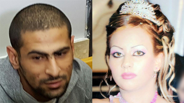 עאווני זיאדאת רצח את אשתו ההרה אחלאם בת 20