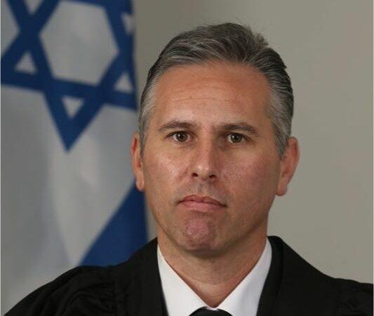 השופט אסף זגורי